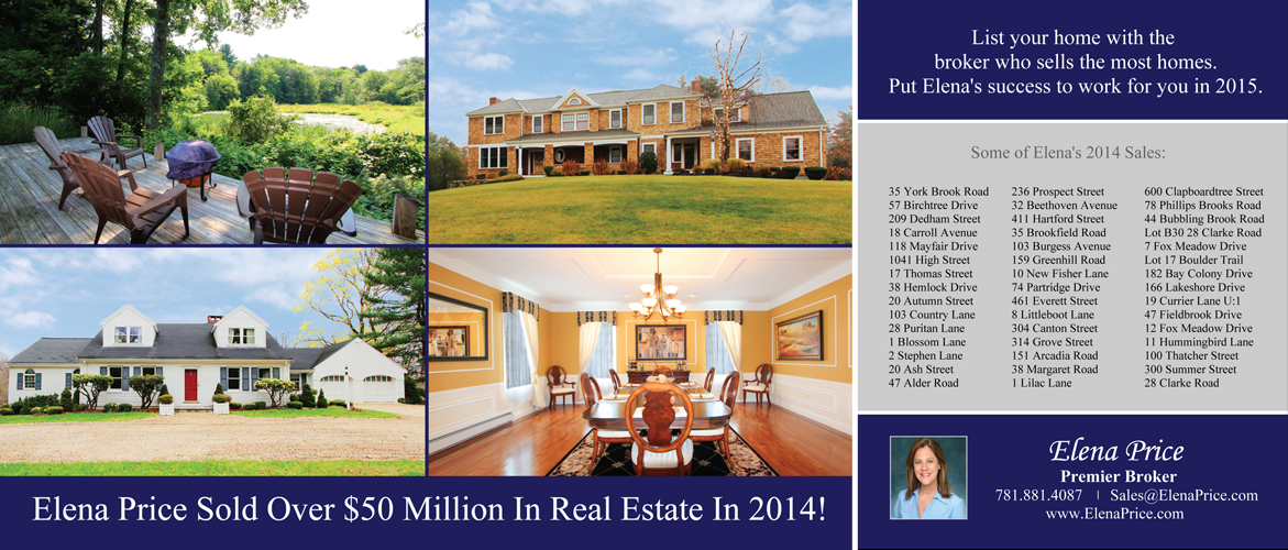 Elena Price Real Estate Sales 2014