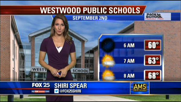 Courtesy Fox 25 News - First Day Back To School