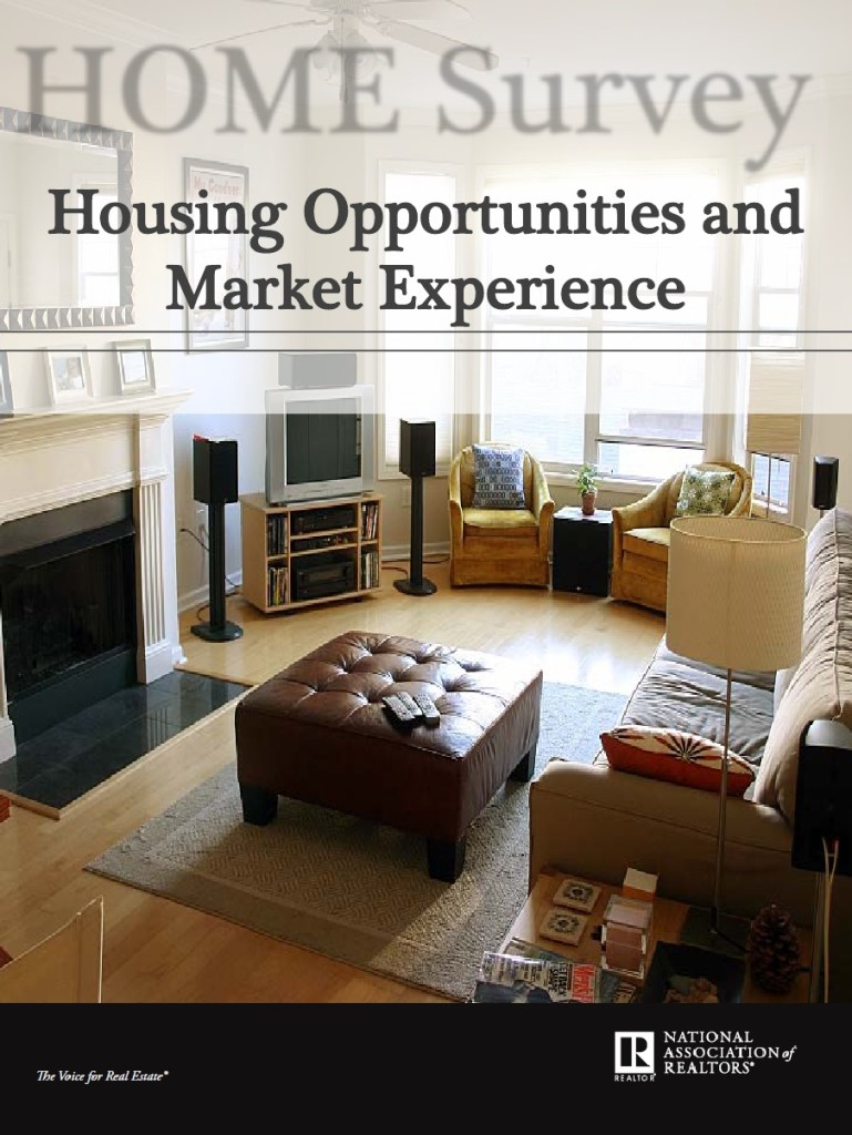 NAR Research Home Survey