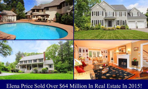Elena Sold Over $64 Million Of Real Estate In 2015!
