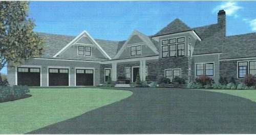 Artist Rendering of 54 Peach Street in Walpole MA