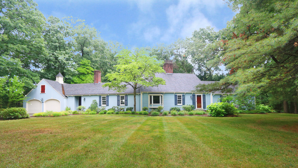 75 Wagon Road, Westwood MA - Cape Style Home For Sale