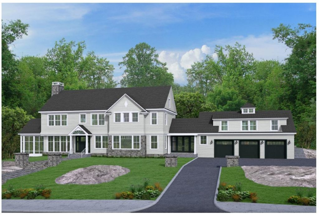 To Be Built Custom Colonial - High Ridge Estates, Westwood MA