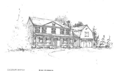 Custom Farmhouse Colonial For Sale - 190 Arcadia Road, Westwood MA