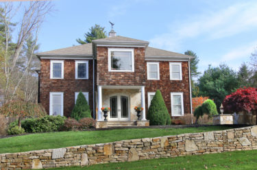 Front Exterior Photograph of 68 Mill Brook Avenue in Walpole MA