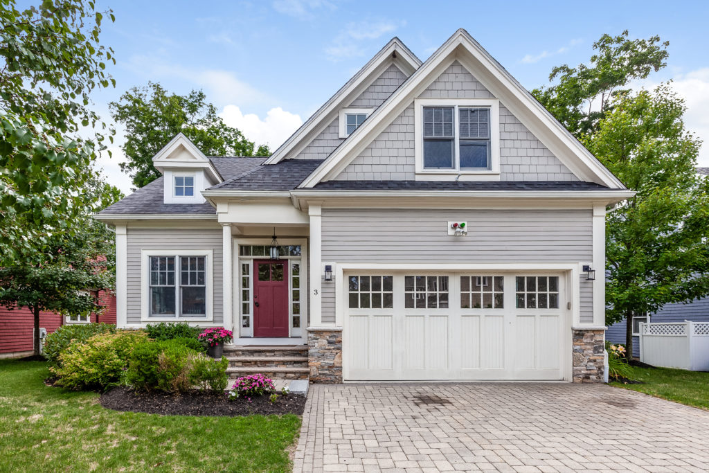 Front Exterior of 3 Dover Farms Road in Dover, MA