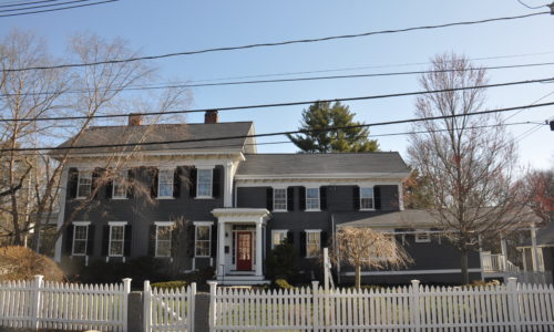 Front Exterior of 902 High Street, Dedham MA