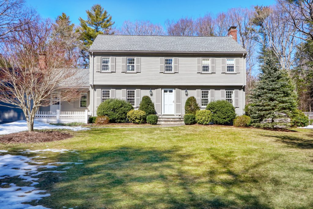 Front exterior photograph of 160 Clapboardtree Street in Westwood MA