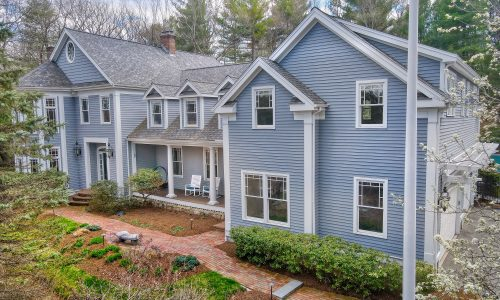 Front Exterior Photograph of 10 Stonemeadow Drive, Westwood MA