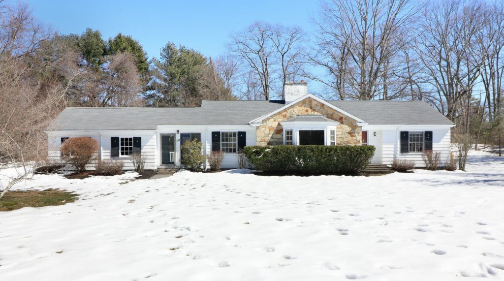 110 Rockmeadow Road, Westwood MA - Ranch Style Home For Sale