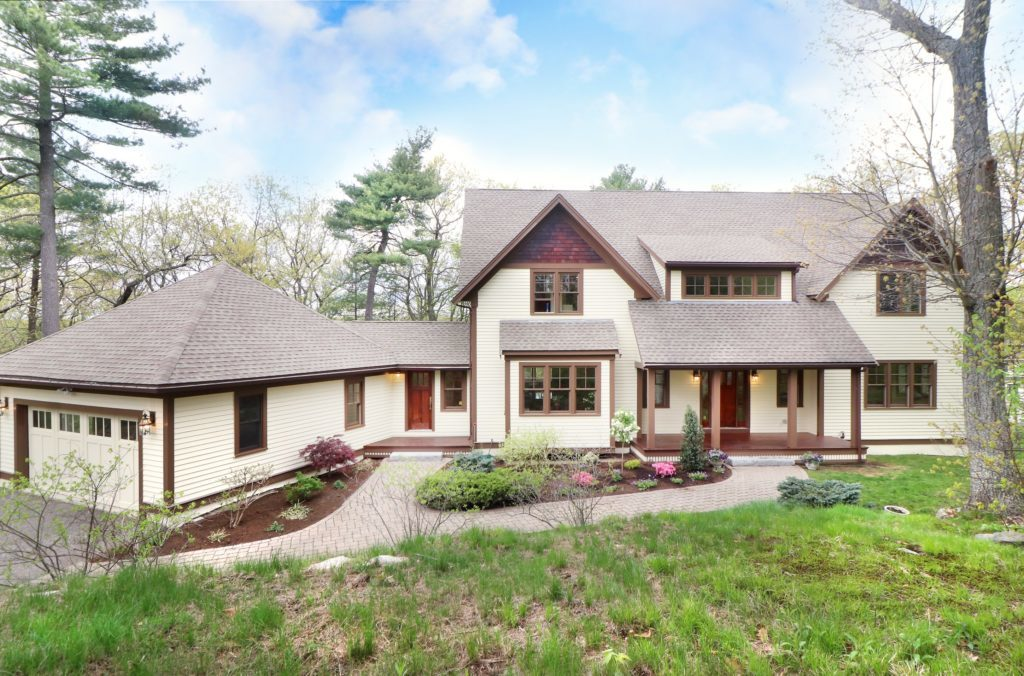 Custom Designed Home With Scenic Views - Dedham MA