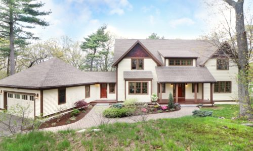 Front Exterior Photograph of 250 Meadowbrook Road in Dedham MA