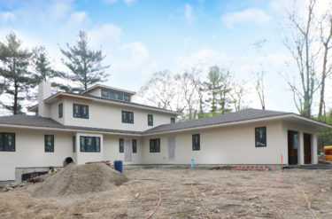 Exterior Photograph of New Construction on Meadowbrook Road in Dedham MA