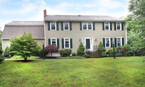 Move In Ready Colonial in Sought After Dover MA