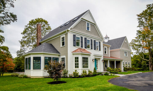Front Exterior Photograph of 290 Summer Street, Westwood MA
