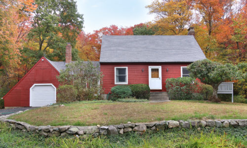 New England Cape Style Home Sold