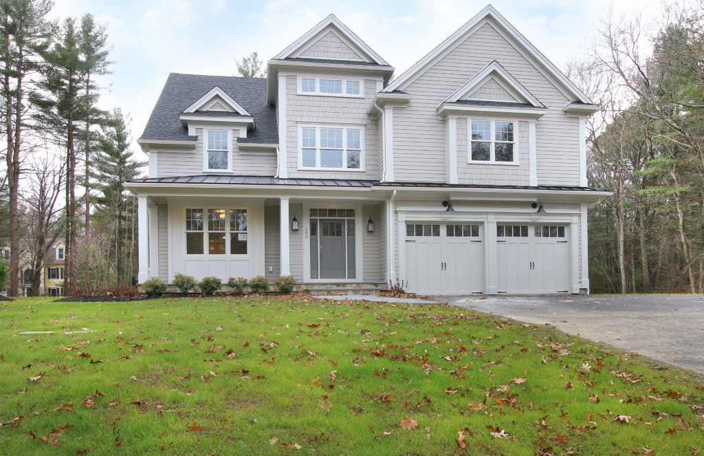 Privately Set New Construction For Sale in Westwood MA
