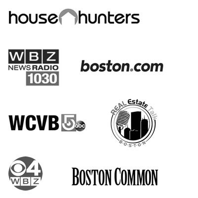 Collage of Media Logos Where Elena has been Featured