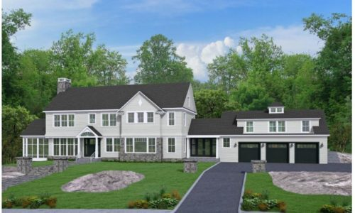 Newly Built Colonial In Westwood Is Under Agreement
