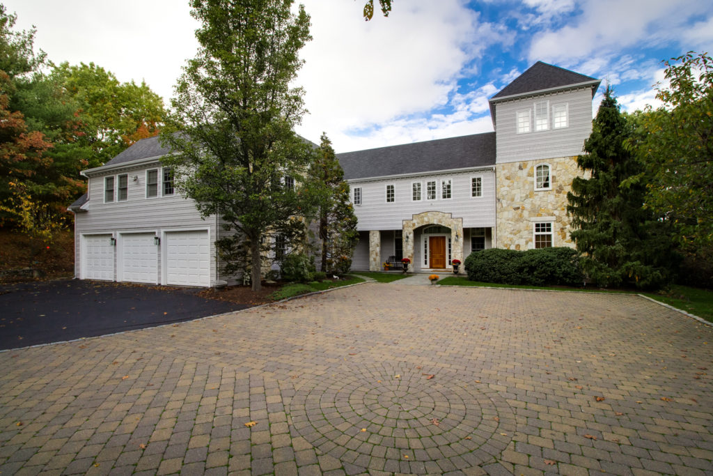 Front Exterior Photograph of Under Agreement Home at 15 Longmeadow Drive, Westwood MA