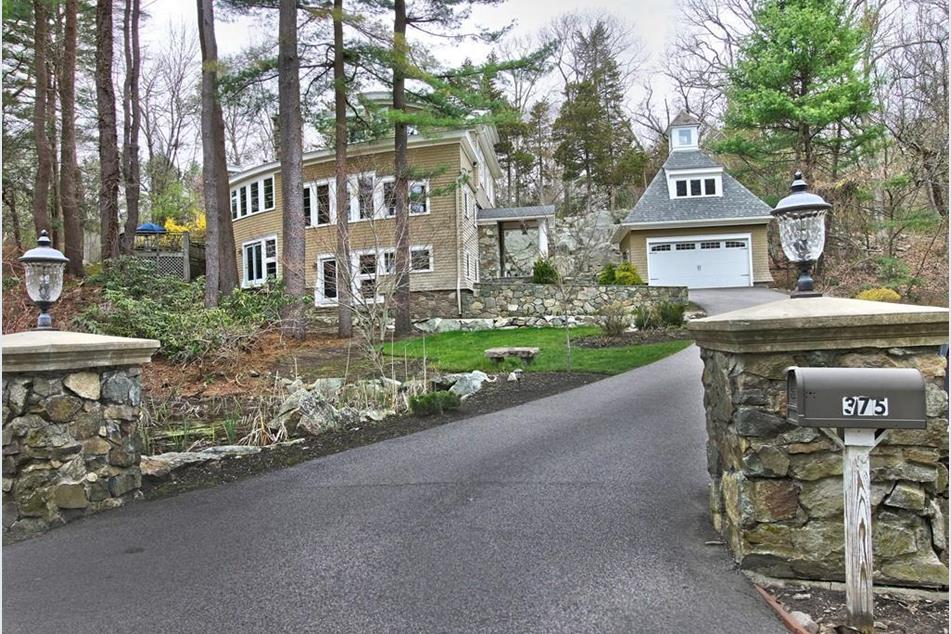 Front Exterior Photograph of 375 Westfield Street in Dedham MA