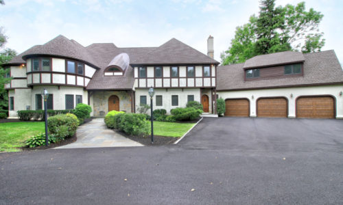 Front Exterior Photograph of 36 Manor Lane in Westwood, MA