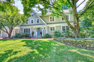 Front Exterior Photograph of 65 Fieldstone Road, Westwood MA