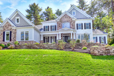 Front Exterior Photograph of 9 Schaffner Lane, Dover MA