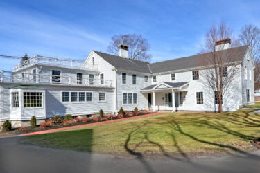 Front Exterior Photograph of 446 High Street, Westwood MA