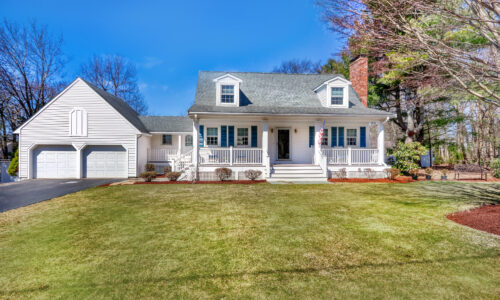 Front Exterior Photograph of 137 Forbes Road, Westwood MA