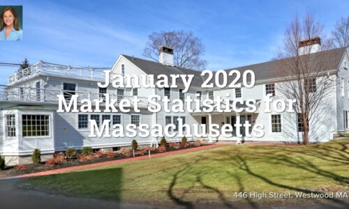 January 2020 Market Statistics for Massachusetts